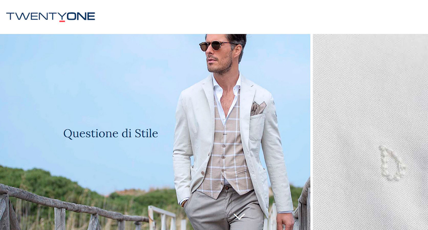 sito web twentyonefashion